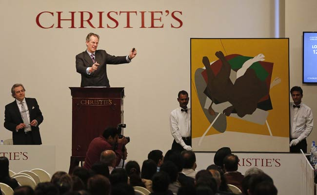 This Painting By Tyeb Mehta Sold for Over Rs 17 Crore at a Christie's Auction