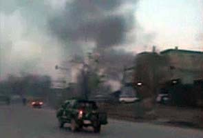 Suicide bombing, gunfire rock Kabul