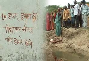 Desperate Uttar Pradesh village offers cash for visit by MLA or MP