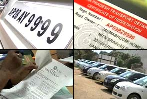 Car number auctions fetch Rs 2 crore for Andhra