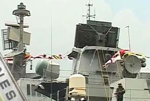 India denies confrontation with Chinese warship