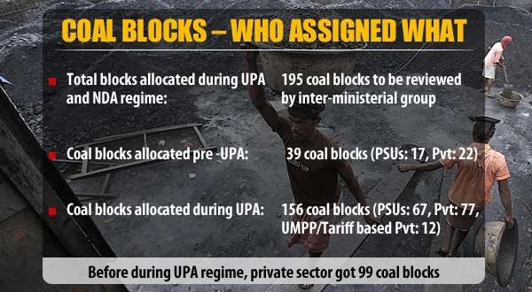 Coal scandal: 60 coal blocks c...