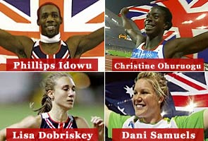 Three top UK athletes pull out of Commonwealth Games
