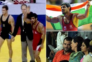 CWG wrestling: Sushil Kumar wins freestyle Gold