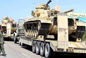 Armed men attack peacekeeping troops in Egypt's Sinai