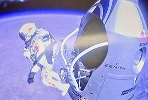Austrian skydiver Felix Baumgartner inspires awe in watching millions