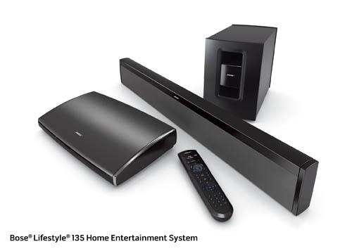 bose unveils lifestyle 135 and cinemate 1sr technology news. Black Bedroom Furniture Sets. Home Design Ideas