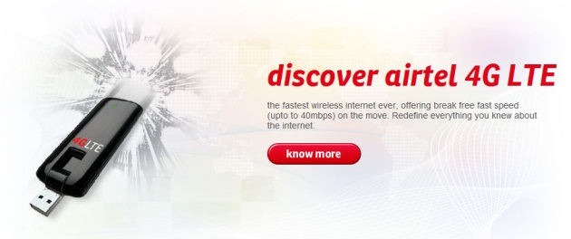 Airtel 4G - Everything you want to know