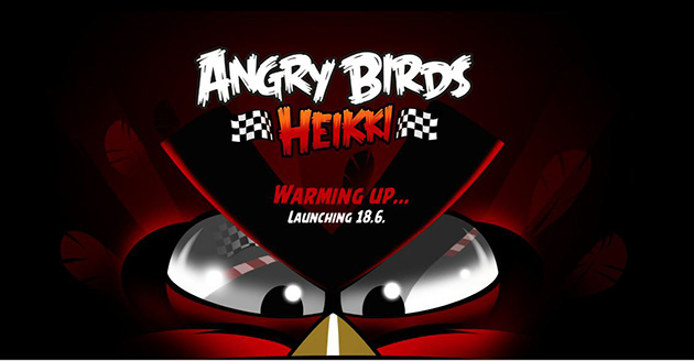 Formula 1 themed Angry Birds Heikki set to launch in June