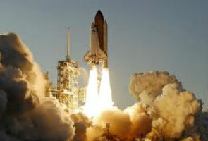 Shuttle Atlantis lifts off for final time