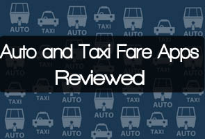 App Review: Taxi, auto fare apps