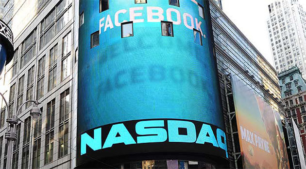 Facebook stock up 12.6 percent as share lockup expires