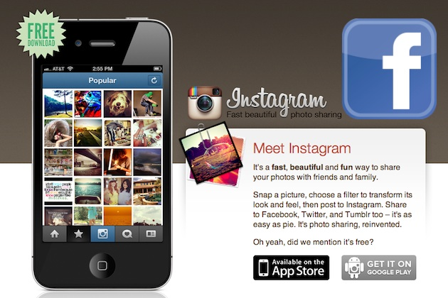 Facebook buying photo-share app Instagram for $1 billion