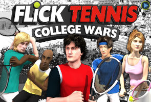 App Review: Flick Tennis: College Wars HD