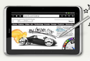 Review: HTC Flyer tablet mates with slippery pen