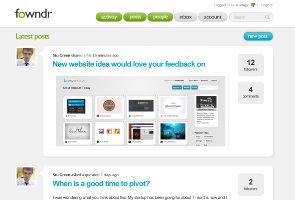 Fowndr offers private social network for start-ups