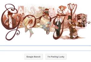 Google Doodle celebrates Charles Dickens' 200th birth anniversary
