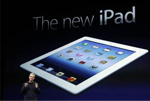 Apple unveils 'new iPad' with sharper screen
