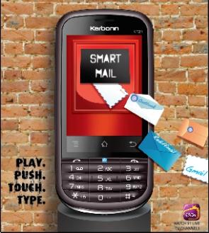 Karbonn announces dual-SIM KT-21 Express with push mail