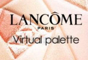 Review: Lancome Virtual Palette App