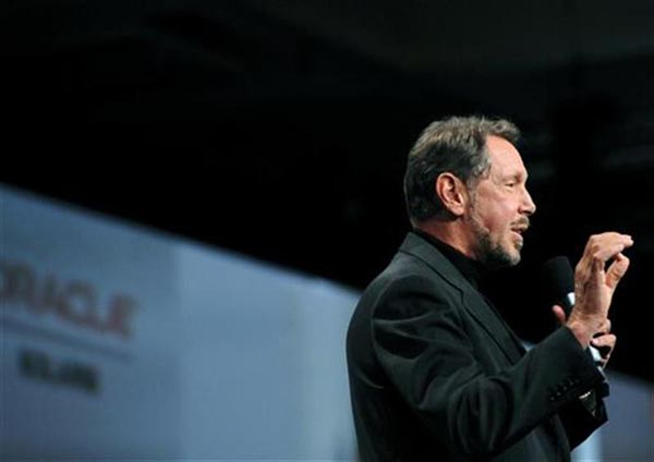 Oracle gunning for IBM's position in business hardware