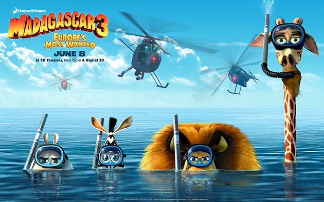 Now a game on Madagascar 3 Technology News