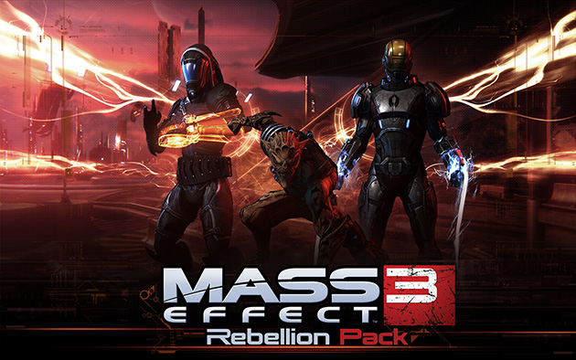 Mass Effect 3: Rebellion DLC available from May 29