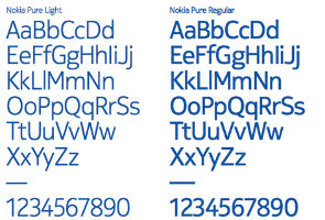 Nokia's new typeface: Nokia Pure