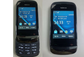 Nokia C2-06 touch and type slider leaked