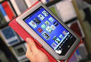 Microsoft eyes tablet lift via Barnes & Noble deal