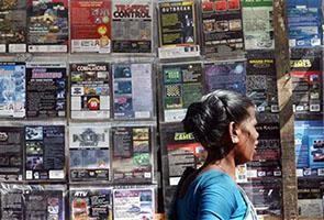 India on copyright pirates