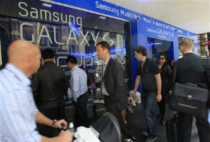 Samsung files new claims against Apple in Germany