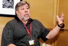 Apple co-founder Steve Wozniak in India