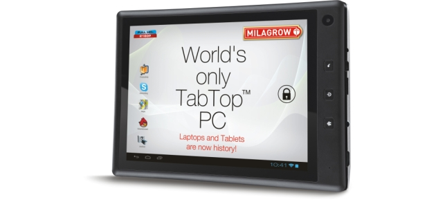 Milagrow TabTop 7.4 now supports Hindi, Tamil languages