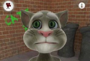 Beloved 'Talking Tom' smartphone cat eyes Hollywood