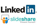 LinkedIn and SlideShare - love at first slide