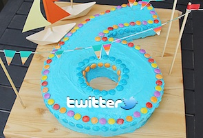 Top 10 Twitter stats on its sixth birthday