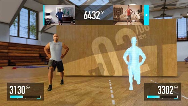 Real-time athletic fitness at home - Nike+ Kinect Training for the Xbox 360
