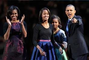 Want to date my daughters? Good luck, says Barack Obama