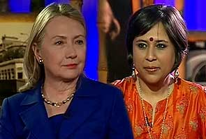 NDTV Exclusive: Hillary Clinton on FDI, Mamata, outsourcing, and Hafiz Saeed - Full transcript