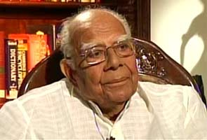 Ram Jethmalani slams BJP in letter to Gadkari