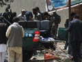 Six killed in suicide attack outside NATO headquarters in Kabul