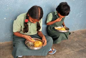 Gujarat students caned for complaining against mid-day meal delay