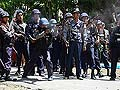 Myanmar violence: houses torched, 10 injured