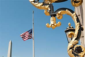Flags at half-mast across US for Neil Armstrong funeral