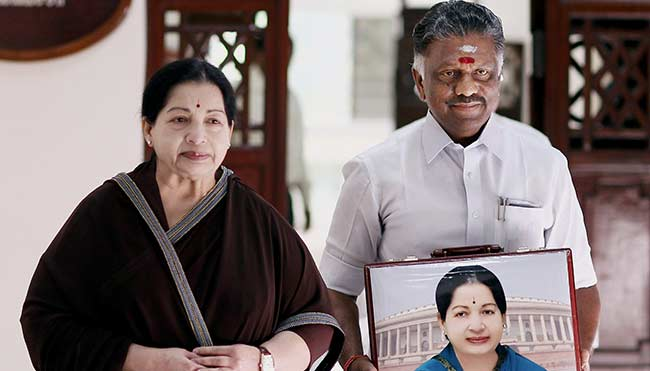 For Second Time, O Panneerselvam is Jayalalithaa's Replacement