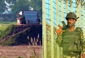 Pakistan sets up new bunker at border