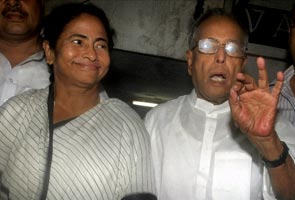 Mamata di sends raakhi for Pranab da