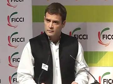 Rahul Gandhi addresses FICCI: Highlights
