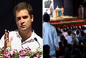 Rahul Gandhi charms students
